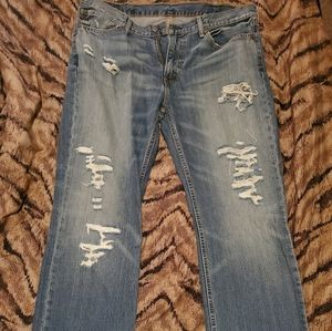 Men's Levi Distressed Jeans